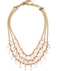 rosa Halskette