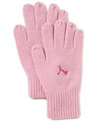 rosa Handschuhe von Puma