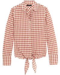 rosa Hemd mit Vichy-Muster von J.Crew