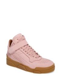 rosa Hohe Sneakers