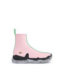 rosa hohe Sneakers von Swear
