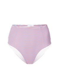 rosa horizontal gestreifte Bikinihose von Onia