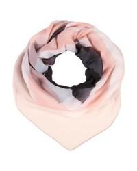 rosa horizontal gestreifter Schal von KIOMI
