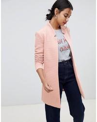 rosa Jacke mit einer offenen Front von Only