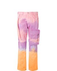 rosa Mit Batikmuster Jeans von EV BRAVADO