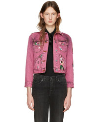 rosa Jeansjacke von Marc Jacobs