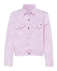 rosa Jeansjacke von Tommy Hilfiger