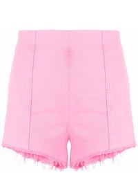 rosa Jeansshorts von MSGM