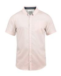 rosa Kurzarmhemd von BLEND