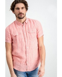 rosa Kurzarmhemd von GARCIA