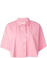 rosa Kurzarmhemd von Golden Goose Deluxe Brand