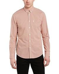 rosa Langarmhemd von Ben Sherman
