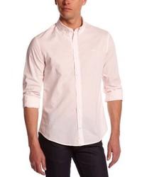 rosa Langarmhemd von Mister Marcel