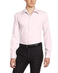 rosa Langarmhemd von Pierre Clarence