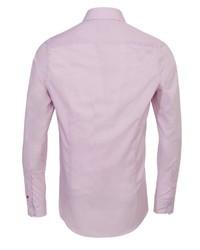 rosa Langarmhemd von Pure