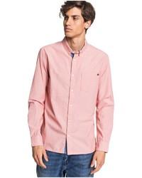 rosa Langarmhemd von Quiksilver