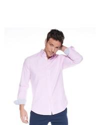 rosa Langarmhemd von SteffenKlein
