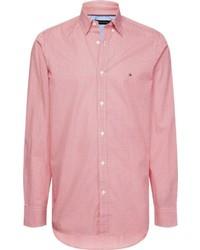 rosa Langarmhemd von Tommy Hilfiger