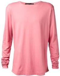 rosa Langarmshirt