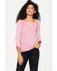 rosa Langarmshirt von Esprit