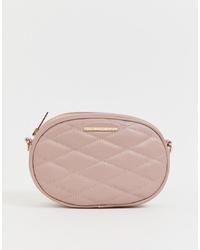 rosa Leder Bauchtasche von Lipsy