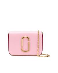 rosa Leder Bauchtasche von Marc Jacobs