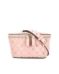 rosa Leder Bauchtasche von Valentino