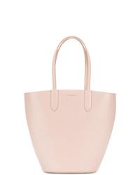 rosa Leder Beuteltasche von Alexander McQueen