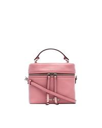 rosa Leder Beuteltasche von Miu Miu