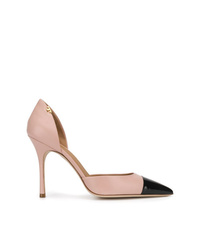 rosa Leder Pumps von Tory Burch