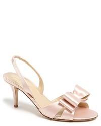 rosa Leder Sandaletten