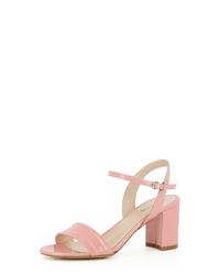 rosa Leder Sandaletten von Evita