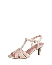 rosa Leder Sandaletten von Jane Klain
