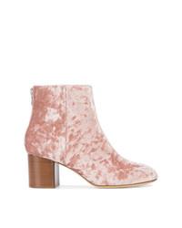rosa Leder Stiefeletten von Rag & Bone