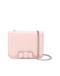 rosa Leder Umhängetasche von Salvatore Ferragamo