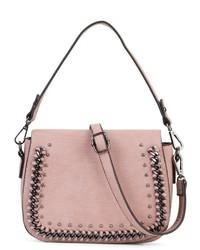 rosa Leder Umhängetasche von SURI FREY