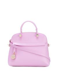 rosa Lederhandtasche von Furla