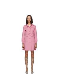 rosa Mantel von Gucci