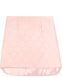 rosa Minirock von Miu Miu
