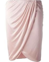 rosa Minirock von Versace