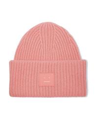 rosa Mütze von Acne Studios