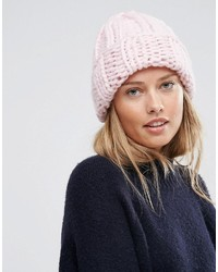 rosa Mütze von Asos