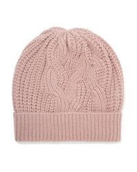 rosa Mütze von Johnstons of Elgin
