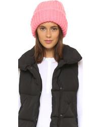 rosa Mütze