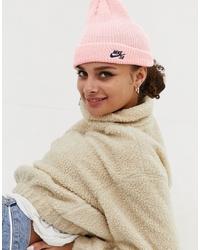 rosa Mütze von Nike