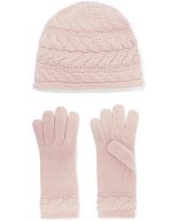 rosa Mütze von Portolano