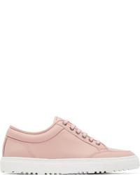 rosa niedrige Sneakers