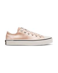 rosa niedrige Sneakers von Marc Jacobs