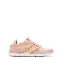 rosa niedrige Sneakers von Tommy Hilfiger
