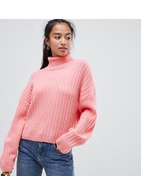 rosa Oversize Pullover von Asos Petite